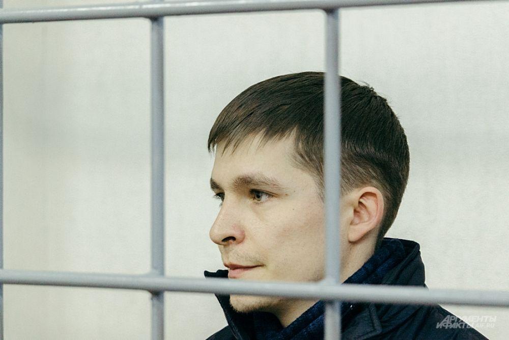 Подозреваемый Рустам Тимербаев.