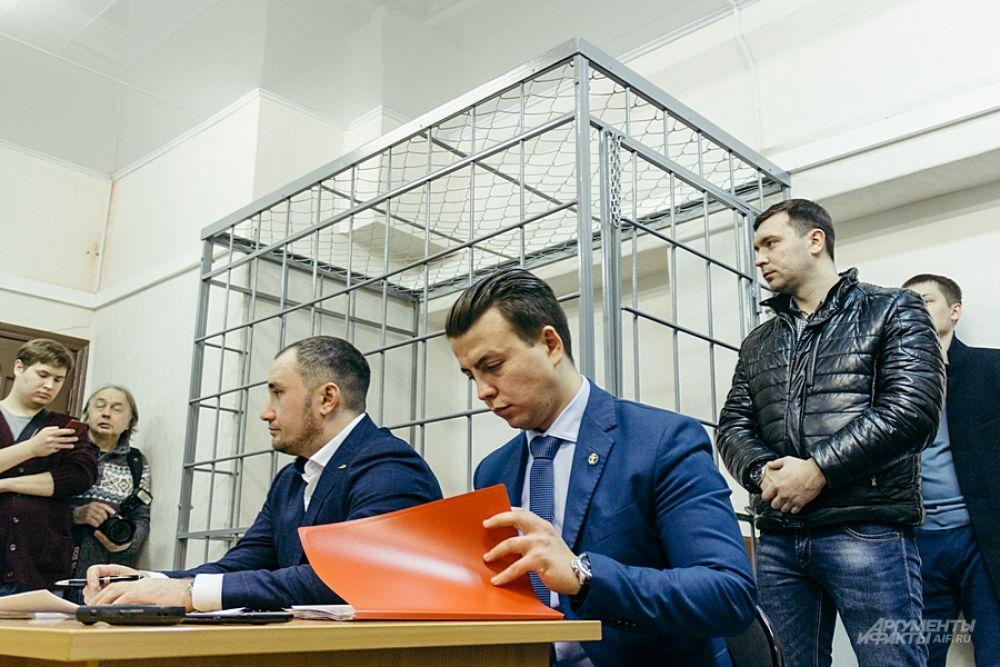Вторым слушалось дело Рустама Тимербаева.