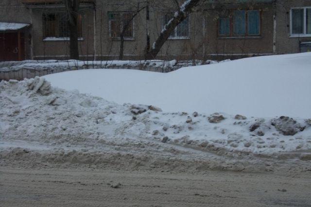 Женщина спрятала свою машину отприставов всугробе вПрикамье