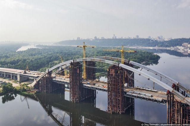 Киевсовет утвердил выделение 625 млн грн настроительство Подольского мостового перехода