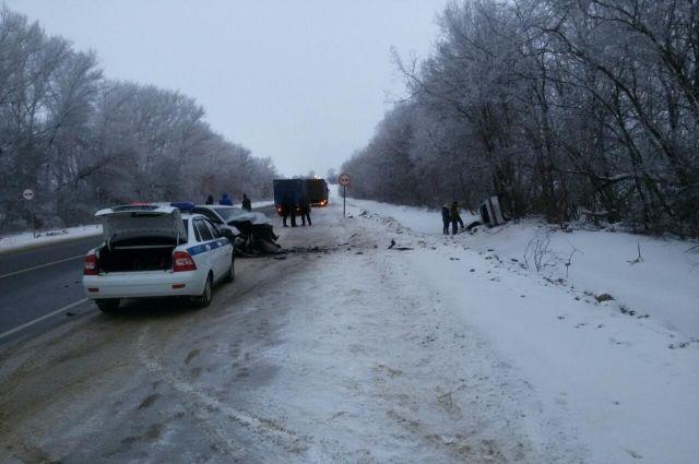 Врезультате происшествия надороге натрассе «Крым» два водителя попали в поликлинику