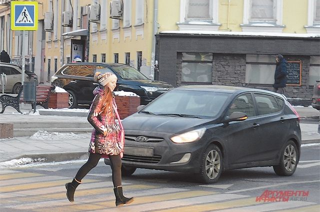 Кузбасские водители вошли втройку лидеров рейтинга поавтохамству вотношении пешеходов