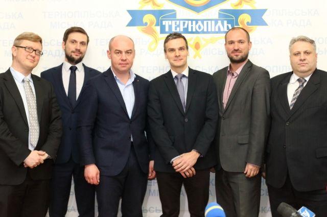Польская делегация из города Гливице побывала в Тернополе