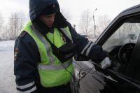 17 водителей устранили тонировочную пленку на месте.