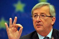 Гройсман подарил Юнкеру символ Евровидения в Украине - картину с бусами