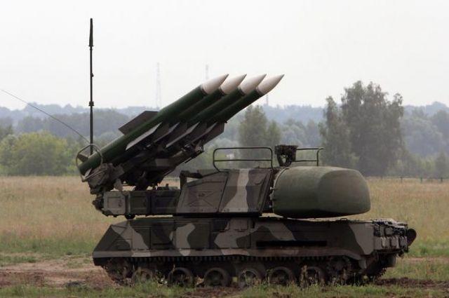 Бук-М1-2» является многоцелевым комплексом, осуществляющим одновременный обстрел шести целей