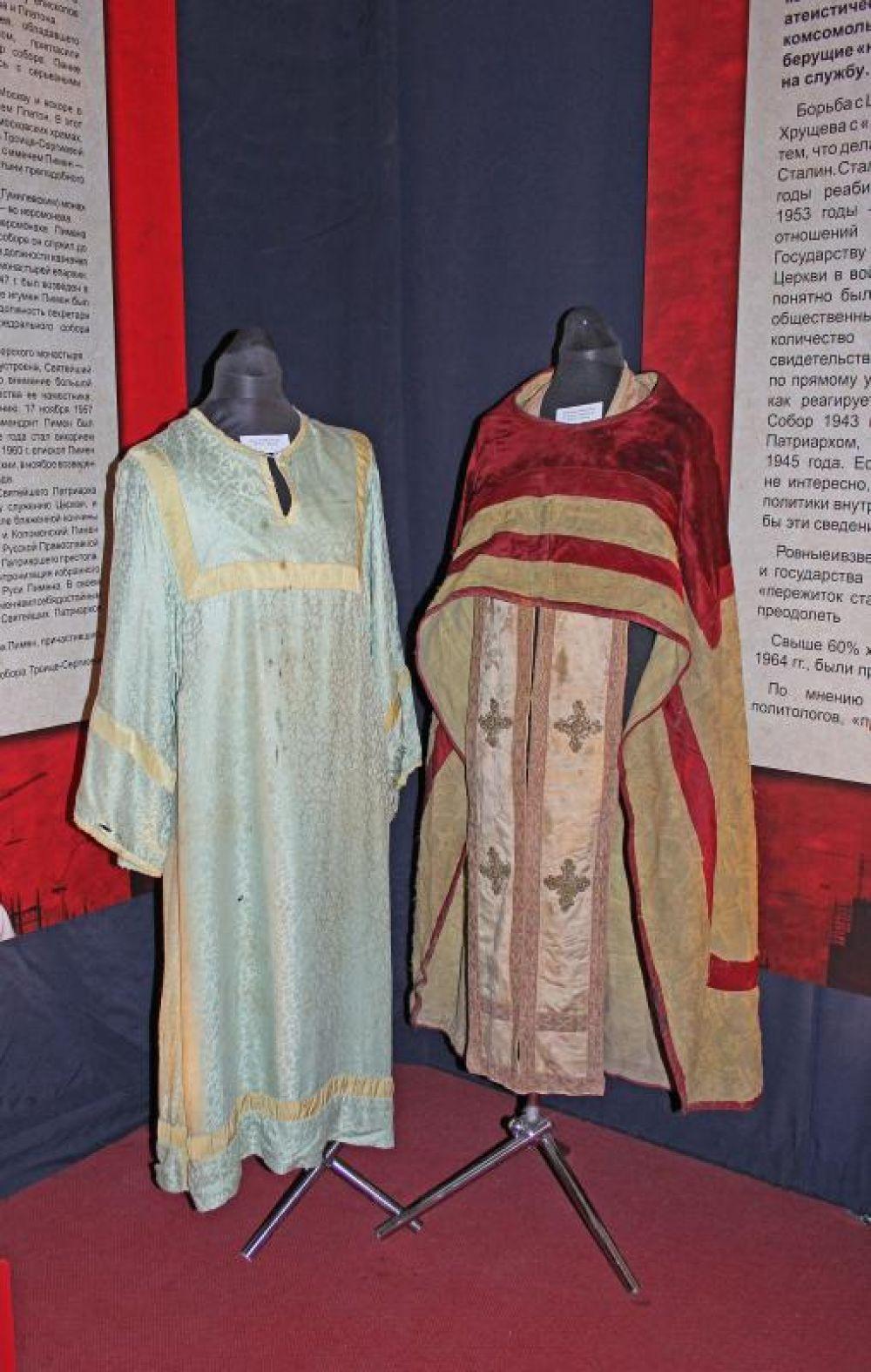 Посетители стали свидетелями возрождения церковной жизни и патриотической деятельности духовенства Ростовской области.
