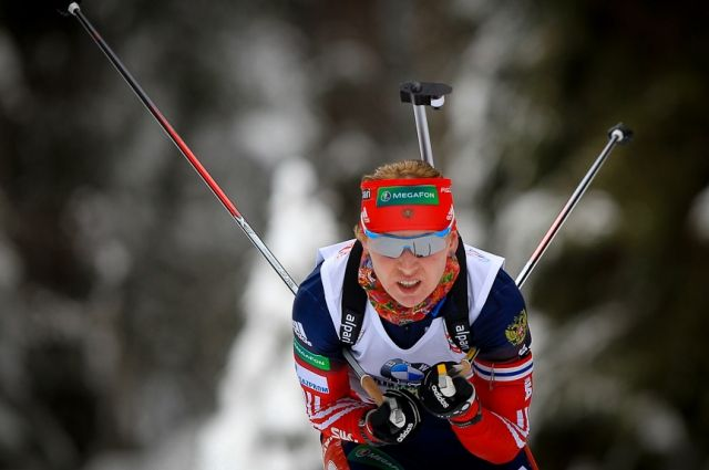 Биатлонистку Глазырину отстранили от состязаний наосновании отчета Макларена