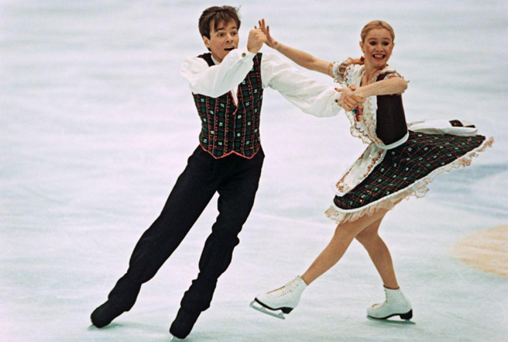 Оксана Грищук и Евгений Платов.