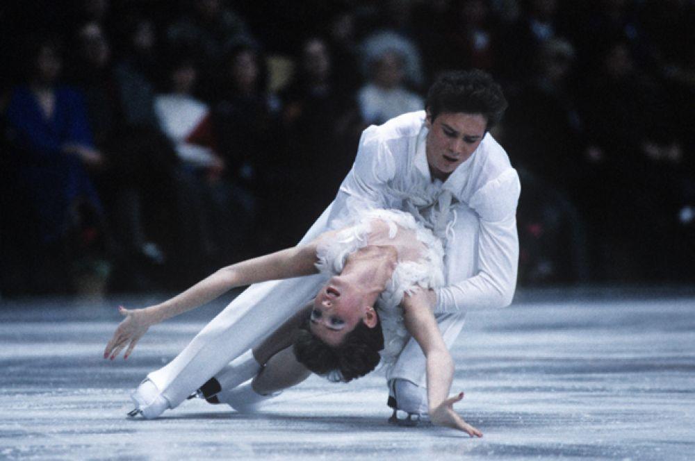 Марина Климова и Сергей Пономаренко.