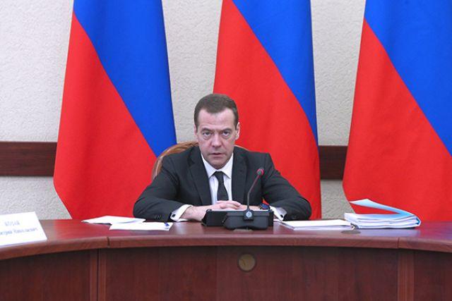 Медведев распорядился присвоить имена 5-ти  курильским островам