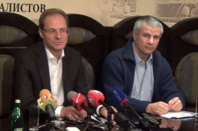 Василий Юрченко и Александр Балян