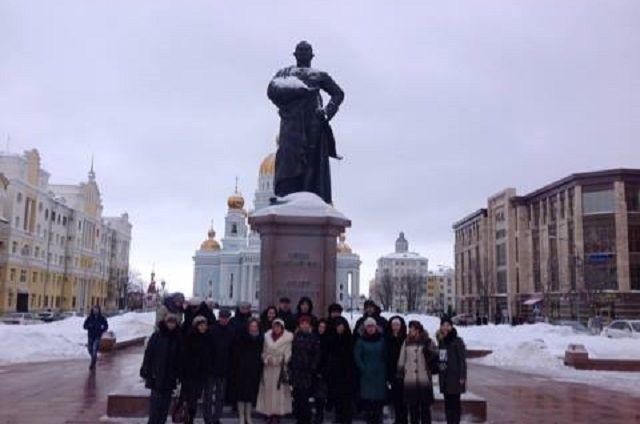 Визитеры осмотрели главные достопримечательности Саранска.