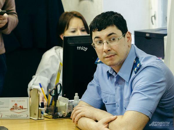 Прокурор Камиль Даишев высказался за арест подозреваемого Вадима Мерзлякова.
