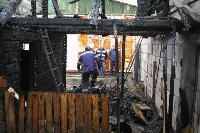Под Саратовом впроцессе пожара умер четырехлетний ребенок