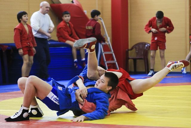 ВТокио проходит чемпионат Японии посамбо наКубок В.Путина