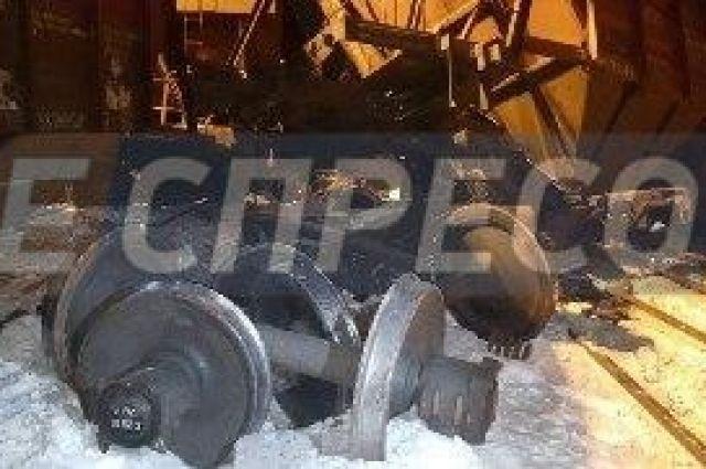 В Киеве сошли с рельсов два состава