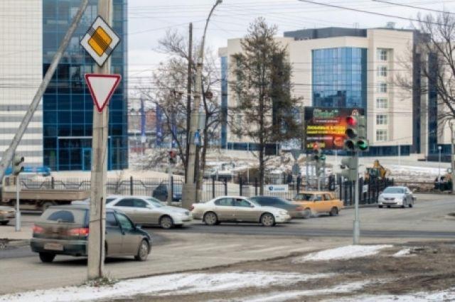 Перекресток, где изменится работа светофора.