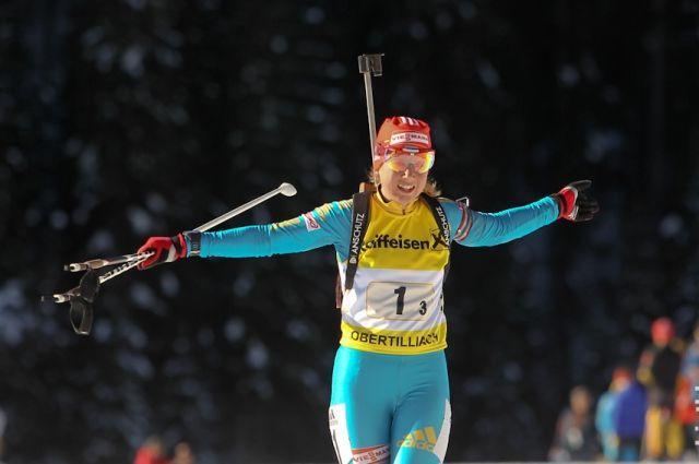Украинская биатлонистка срекордом вошла втоп-10 спринта начемпионате мира