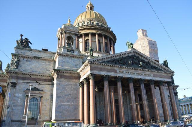 Акция противников передачи Исаакия церкви собрала 1,2 тыс. человек