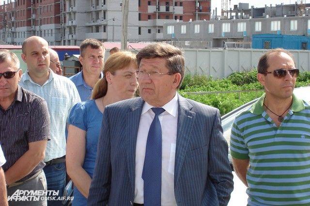Вячеслав Двораковский регулярно посещает городские объекты.