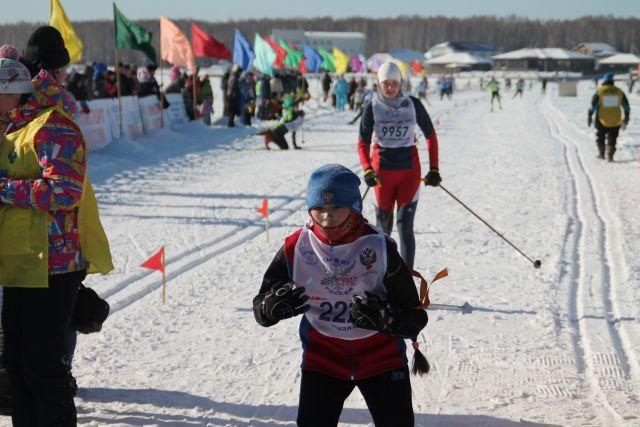 В массовом забеге в Иркутском районе участвовали целыми семьями.