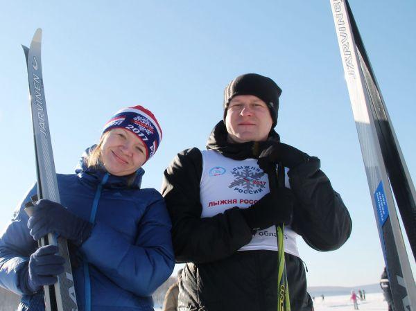 В Иркутске на лыжи встали 13 000 человек.