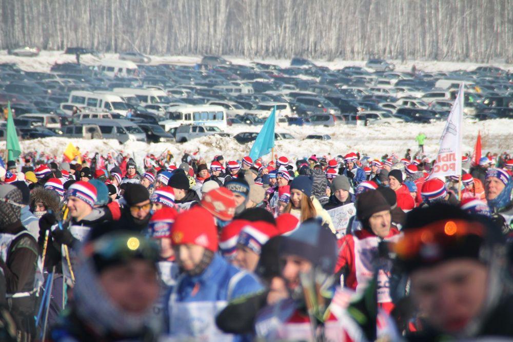 В этом году забег стал самым массовым.