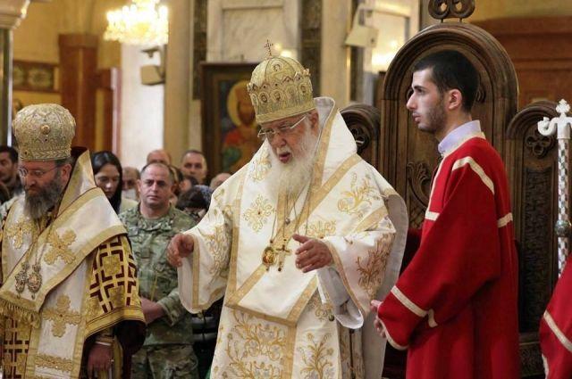 Один изсоратников грузинского патриарха ИлииII пытался его отравить