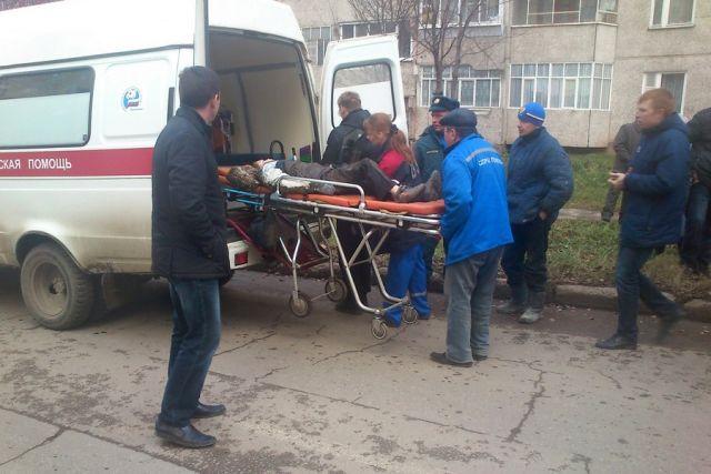 Четверо были госпитализированы из-за наезда лихача
