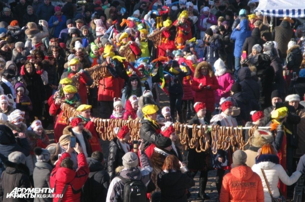 Возродить древнюю традицию в Калининграде решили в 2014 году.