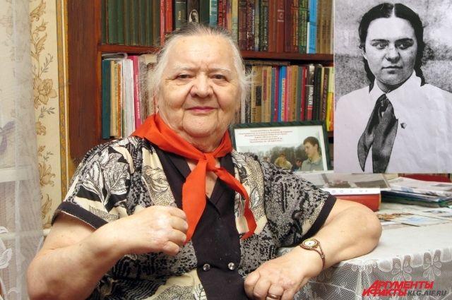 Нинель Федоровна мечтает возродить пионерию.