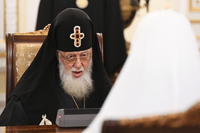 Задержали подозреваемого кпричастности впопытке отравления патриарха Грузии ИлииII