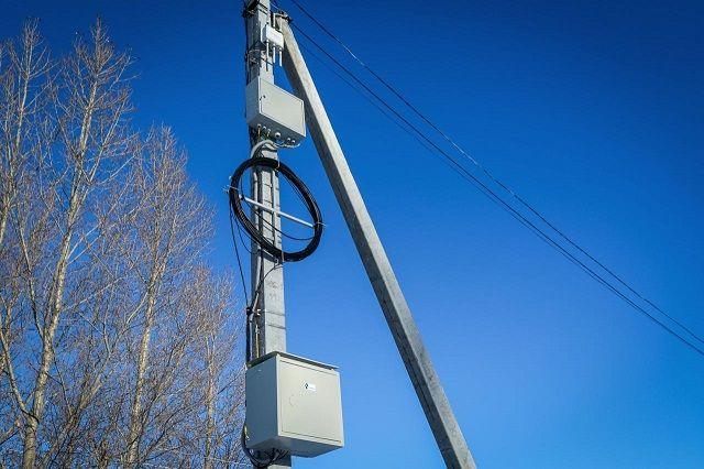 Услуги доступа в Интернет оказываются на базе существующей волоконно-оптической линии связи.