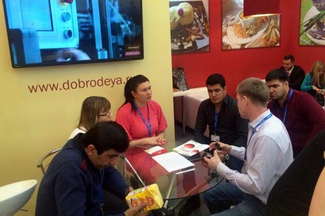 На Международной выставке «Продэкспо-2017» Омскую область представили 6 организаций и предприятий.