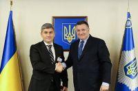 Александру Жиздан и Арсен Аваков