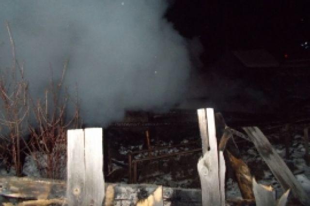 ВНижегородской области впожаре погибли двое мужчин