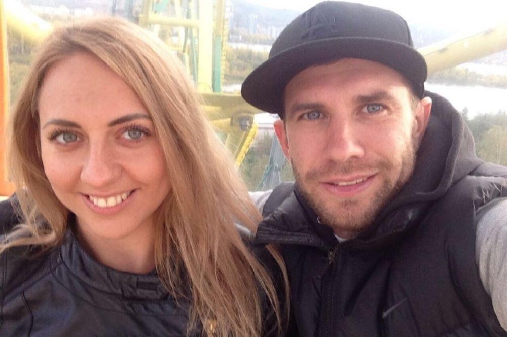 Павел и Дарья Рожковы.