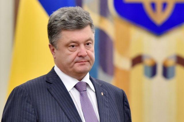Порошенко подписал указ о награждении Воробьева