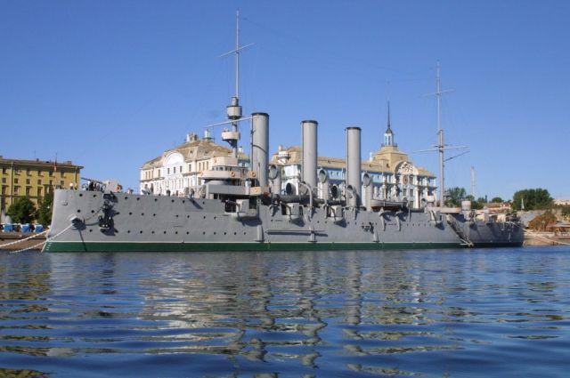 Кронштадтский морской завод оштрафован после проверки ремонта «Авроры»