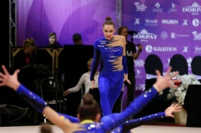 Украинские гимнастки завоевали 14 медалей натурнире вЭстонии