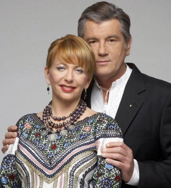 Бывший президент Украины Виктор Ющенко с супругой Екатериной вместе с 1998 года