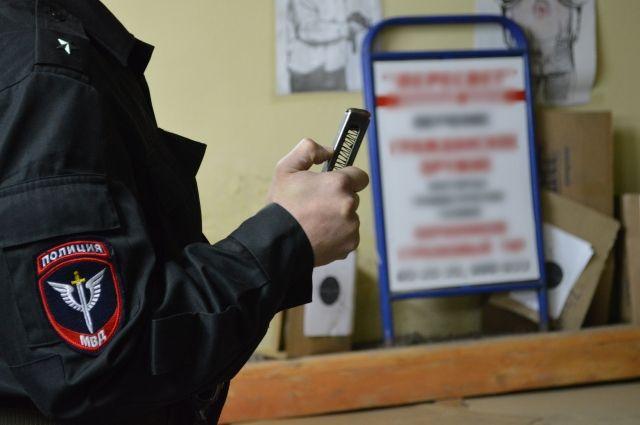 В Таштаголе мужчина стрелял в сотрудников полиции.