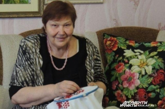 Надежда Мальцева посвятила рукоделию 17 лет жизни.