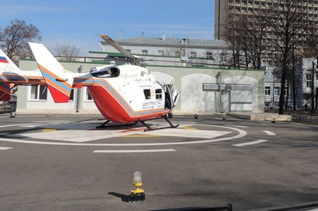 ВЗауралье построят вертолетные площадки у клиник