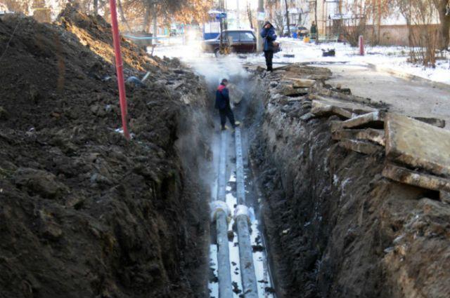 В Димитровграде на ремонт и замену системы теплоснабжения выделили всего 100 тыс. рублей. И получили целый «залп» порывов на теплотрассе.