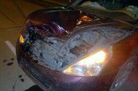Водитель ниссана госпитализирован с тяжёлыми травмами