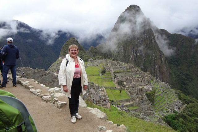 В этом году путешественница планирует посетить Калифорнию, Непал и Индию.
