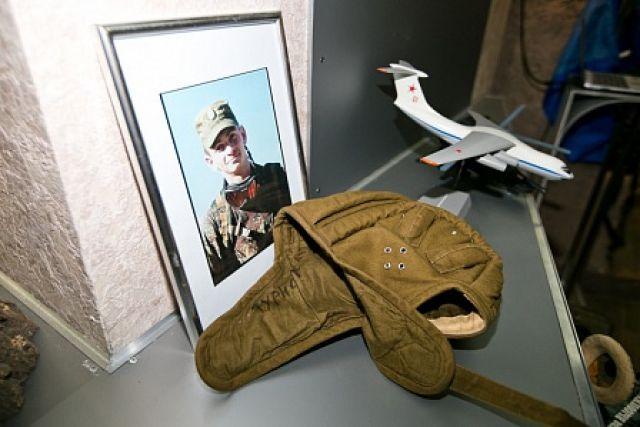 В Оренбурге в музей локальных войн предан шлем Александра Прохоренко