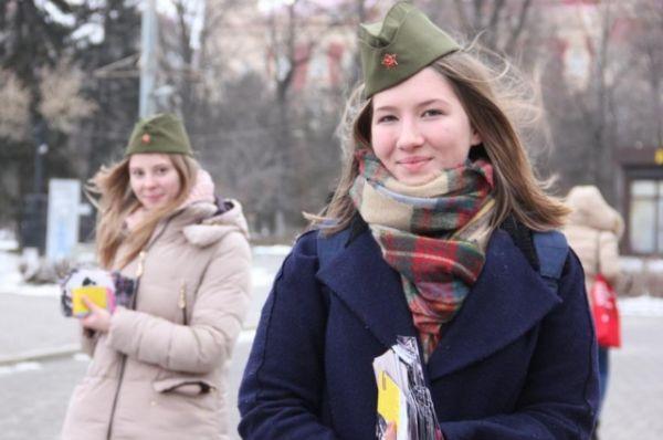 14 февраля в донской столице состоялась традиционная гражданско-патриотическая акция «Ростов освобожденный», посвященная 74-ой годовщине освобождения Ростова-на-Дону от немецко-фашистских захватчиков.